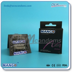 Mango dotted condoms