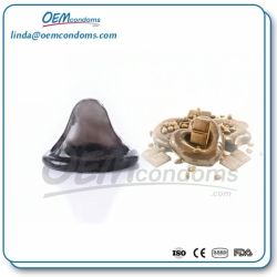 Chocolate flavored condoms