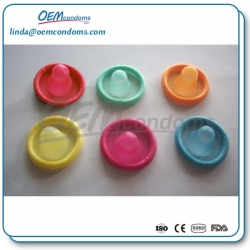 Colored condom