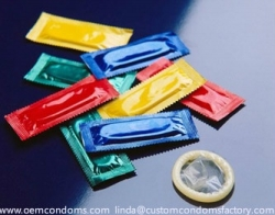 Custom Printed Your Logo Condoms.